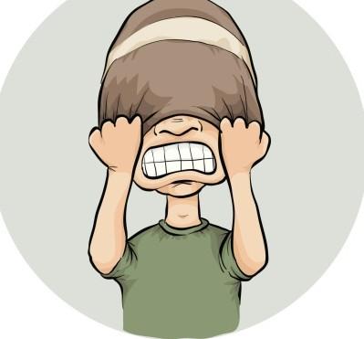 失眠可爱卡通图片